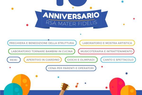 RSA Mater Fidelis - Evento decimo anniversario