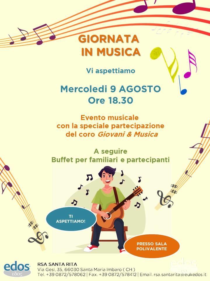 Evento Santa Rita - Giornata di Musica