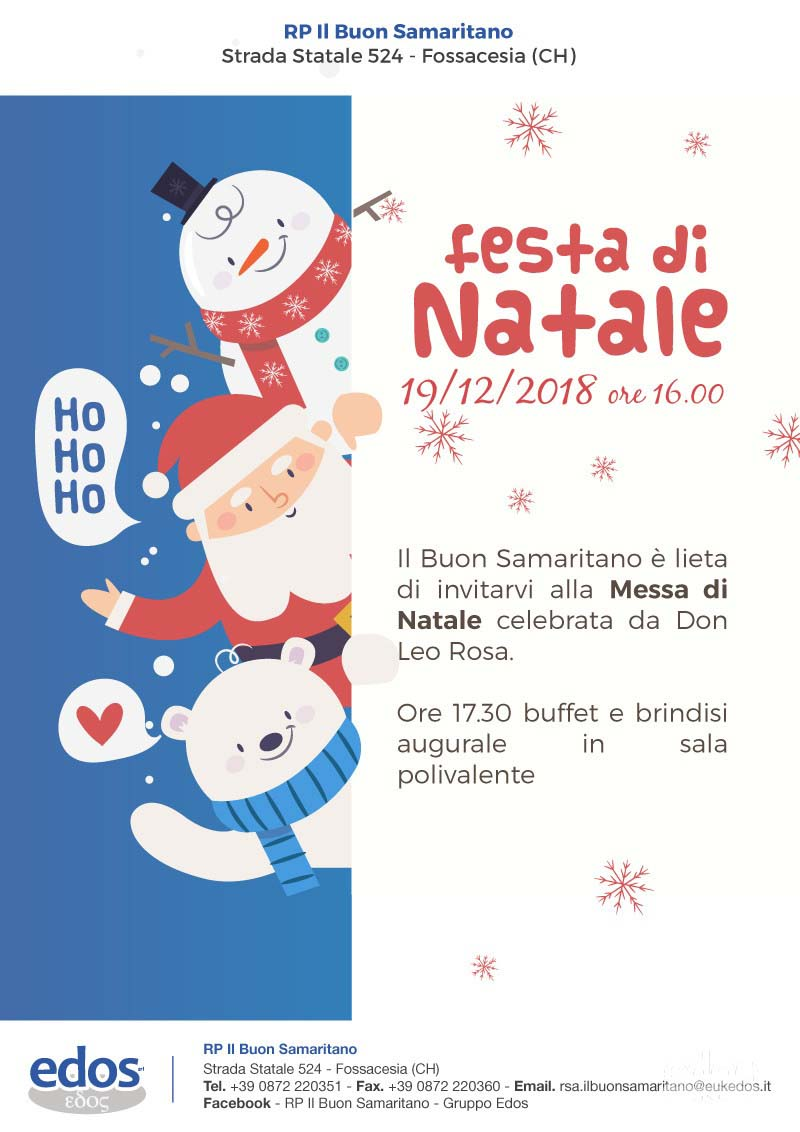 Festa di Natale alla RP Buon Samaritano