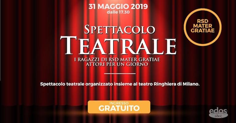La Città Nuova: lo spettacolo teatrale degli ospiti di RSD Mater Gratiae
